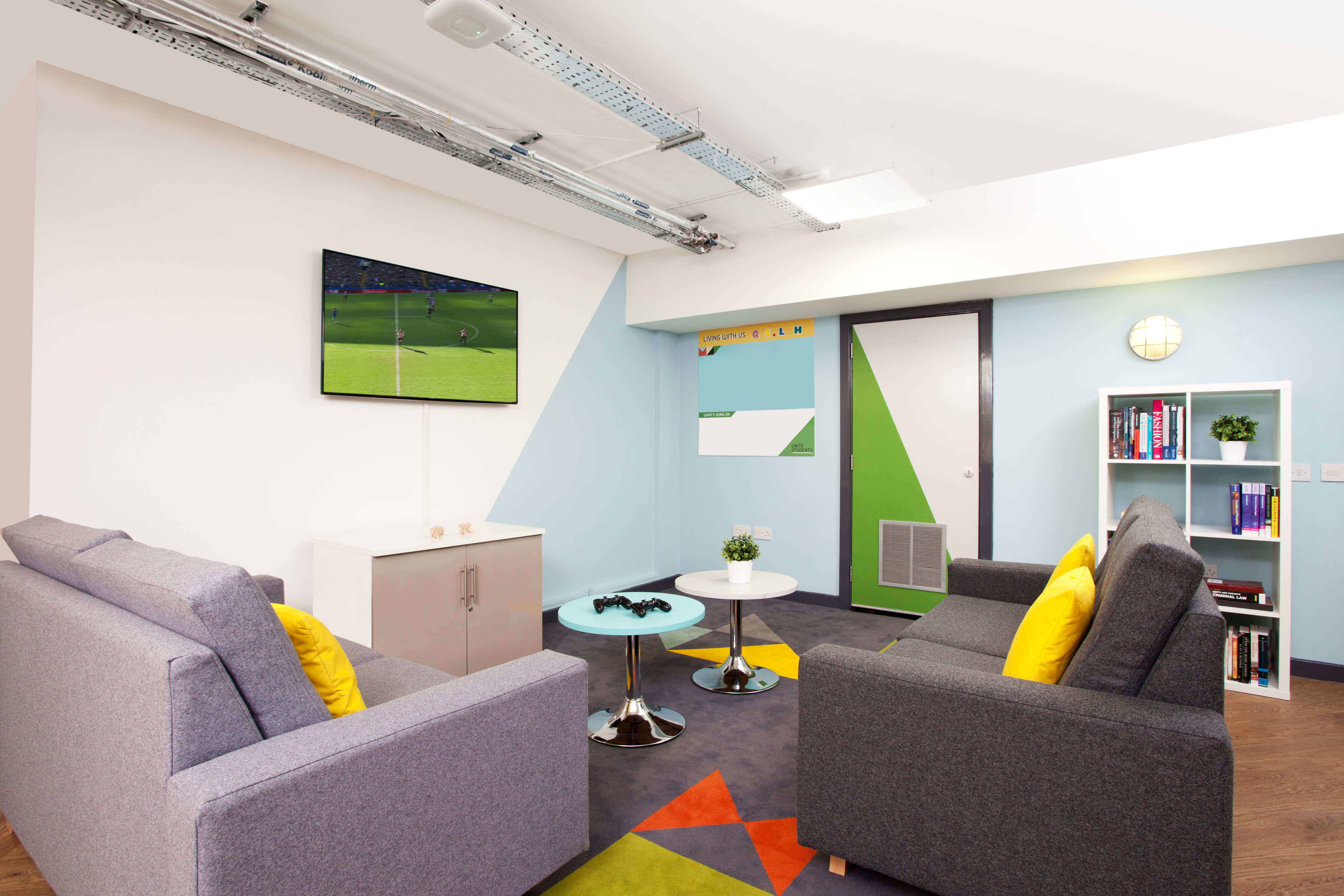Common room at Student Living Heights