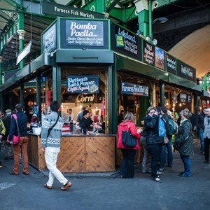 Borough Market and South Bank